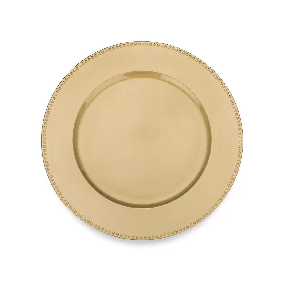 Sousplat Shine Dourado Ref:sp20204 - Mimo