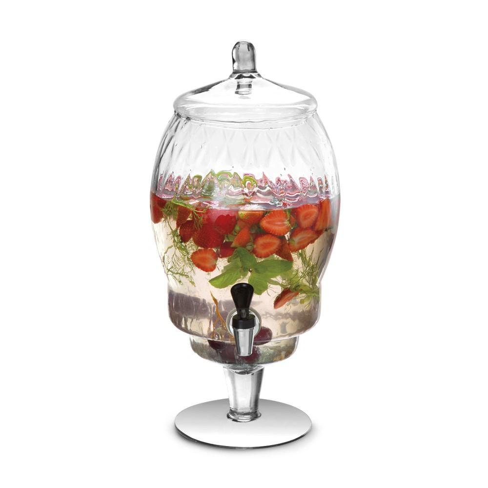 Suqueira De Vidro Com Torneira 5 Litros Ref:30530 - Vitazza