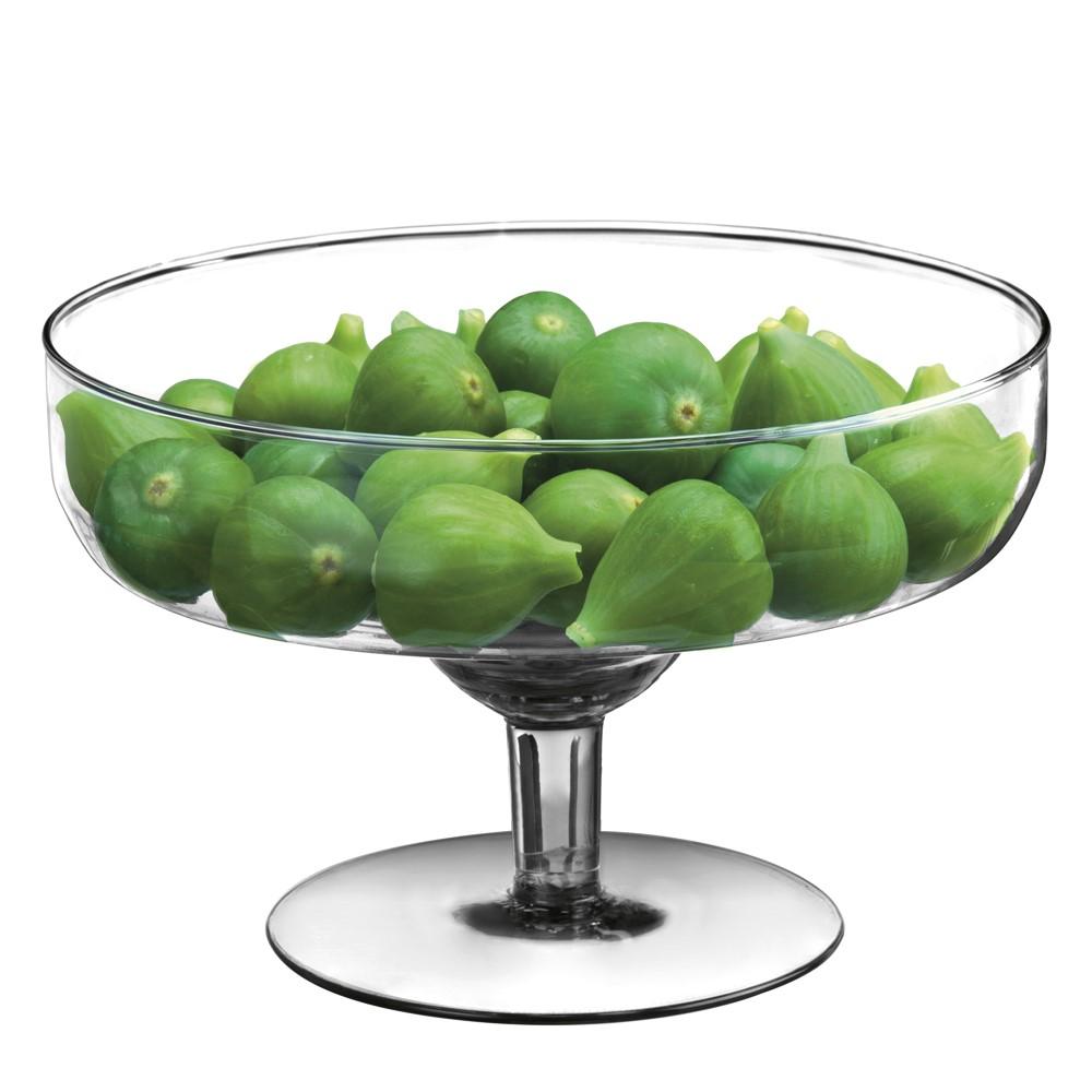 Taça De Vidro Decorativa Asthuria 15x24cm Ref:30580 - Vitazza