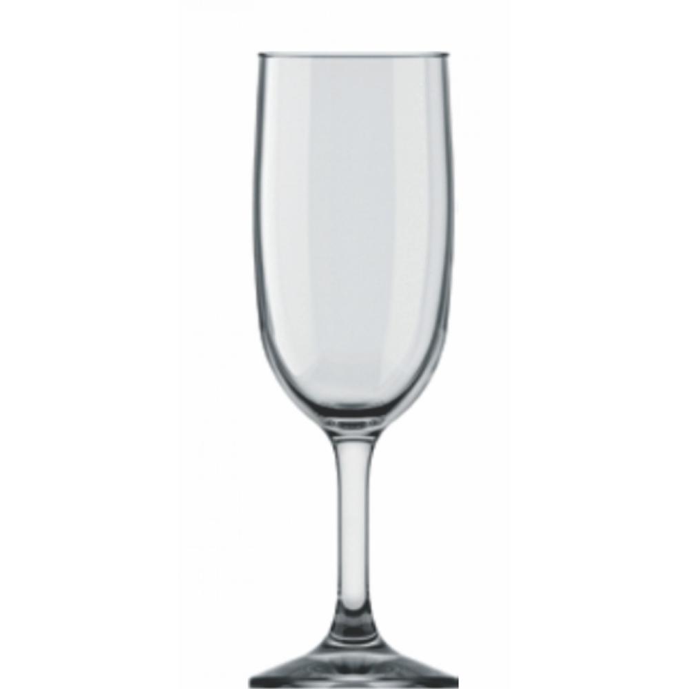 Taça De Vidro Para Champanhe Gallant 180ml Ref:7808 - Nadir