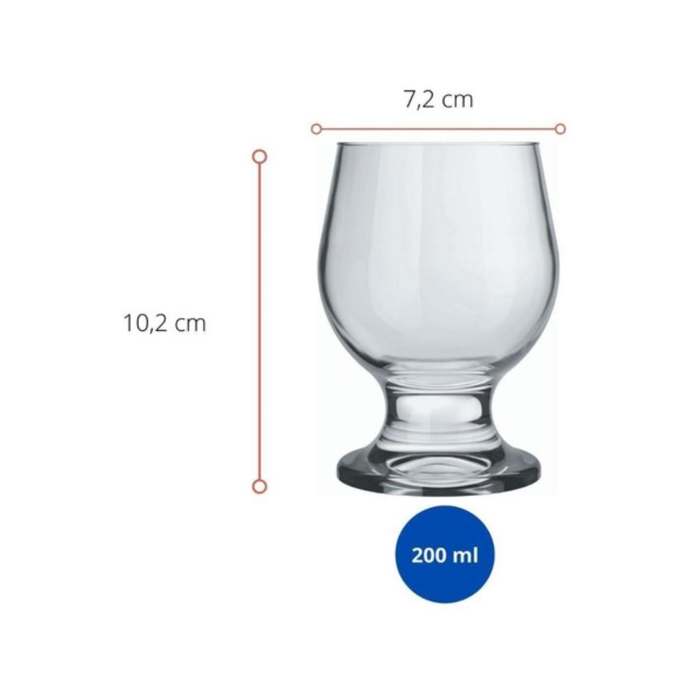 Taça Paulista Vinho Ref:7402 - Nadir
