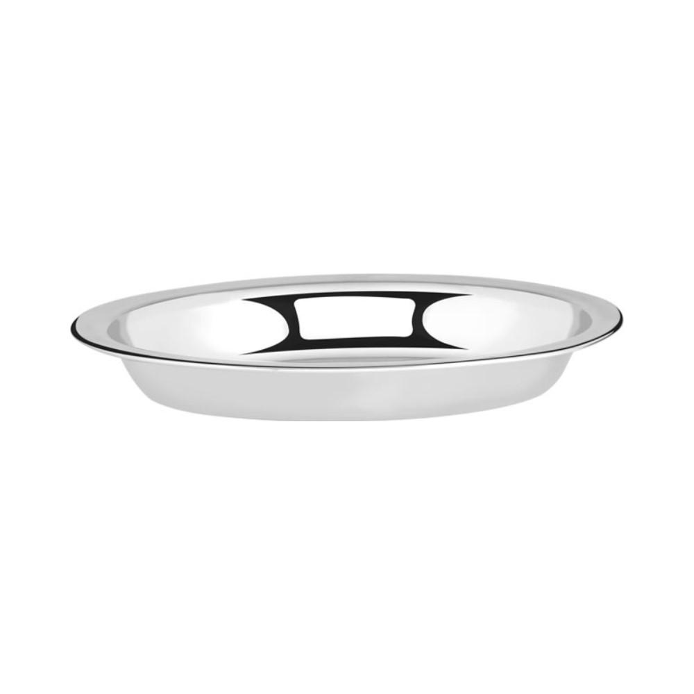 Travessa Inox Funda Oval 20cm Linha Classic Ref:ud273 - 123 Util
