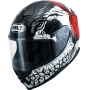 Capacete Helt 967 New Race DJ Skull