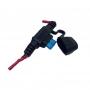 Carregador Celular Para Moto USB Duplo / GPS / Acendedor Cigarro Allen