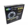 Kit Relação Bros 150 Com Retentor Dourada Aço 1045 Unifort 428x130x50x17