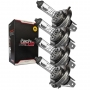 Lâmpada Farol H4 12V 60/55W Falcon NX400 / CB Twister 250F 2016 / Next 250 / CB500 Reforçada Tech Ride 4un
