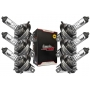 Lâmpada Farol H4 12V 60/55W Falcon NX400 / CB Twister 250F 2016 / Next 250 / CB500 Reforçada Tech Ride 6un