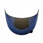 Viseira Azul Iridium Capacete Helt 936 Hippo / 936 Yohe Pratik Anti Risco 2.2mm Polivisor