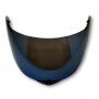 Viseira Azul Iridium Capacete Helt 950 Hippo Glass Anti Risco 2.2mm Polivisor
