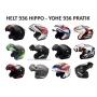 Viseira Espelhada Capacete Helt 936 Hippo / 936 Yohe Pratik Anti Risco 2mm Original