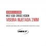 Viseira Fumê Capacete Helt 630 Cross Vision Anti Risco 2mm Original