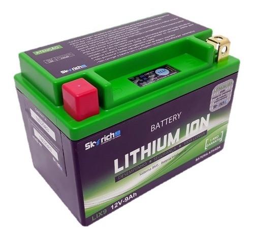 Bateria Íon Lítio Srad 750 / Cbr 600-1000 Shadow Skyrich