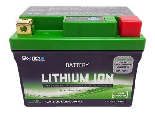Bateria Íon Lítio Titan 150 / Titan 160 / CRF 230 / XRE 190 12V Skyrich