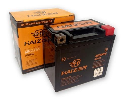 Bateria Moto Biz 125 / Fan 125 / Ybr 125 Haizer 12v 6ah