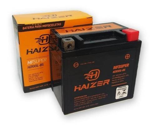Bateria Moto Biz 125 Ks / Biz 100 Es / Pop 110i Haizer 5ah
