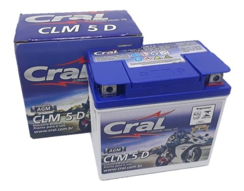 Bateria Selada Titan 150 Mix / Fan 150 Xre / 300 12v 5ah Cral