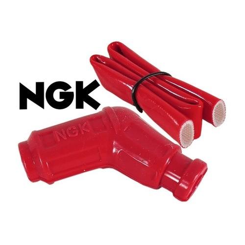 Cachimbo Vela CAP Color Vermelho NGK