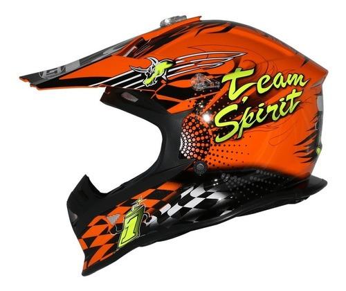 Capacete Helt 631 Motocross MX Bull