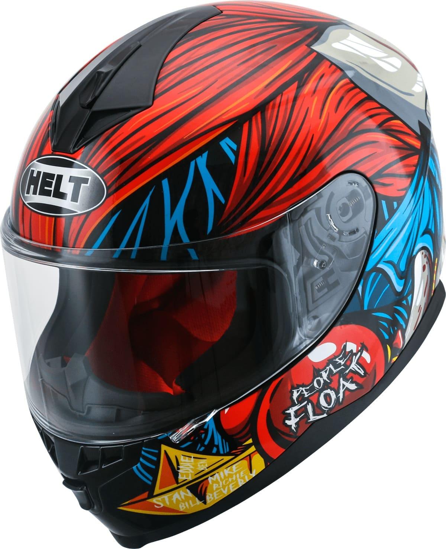 Capacete Helt 967 New Race Joker Vermelho/Azul