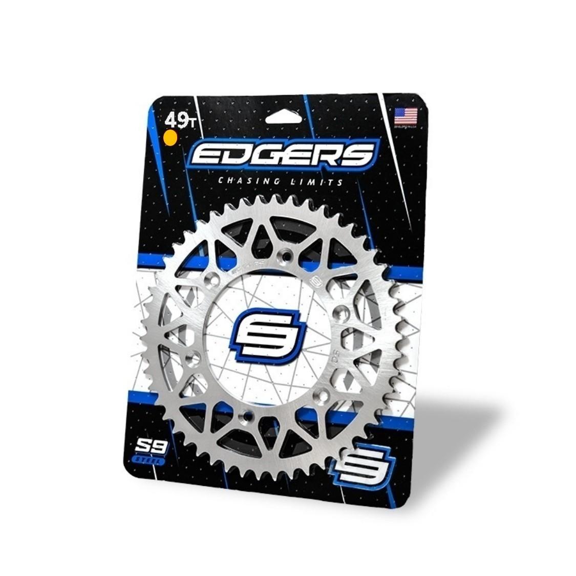 Coroa 49 Dentes KTM 125-194-150-200-250-300-350-400-450-500-525 Prata Edgers