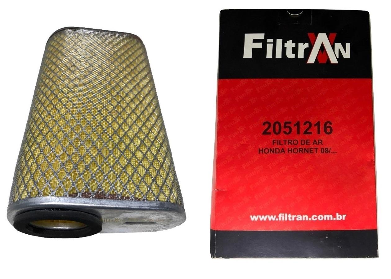 Filtro De Ar Hornet CB 600F 2008 Em Diante Filtran
