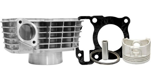 Kit Cilindro Moto Honda Titan 150 / Bros 150 2006 a 2013 Drook Unifort