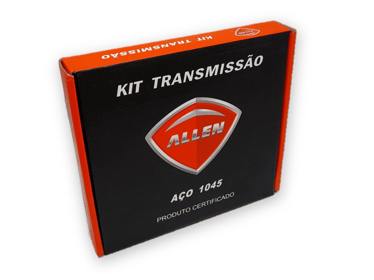 Kit Relação Biz 125 2005 Até 2016 Aço 1045 Allen 428x106x34x14