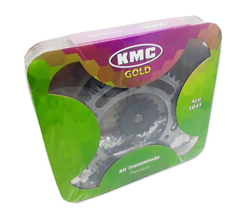 Kit Relação Bros 150 Aço 1045 KMC GOLD 428x130x50x17