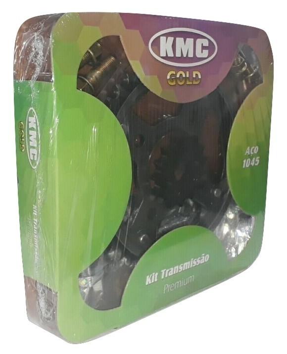 Kit Relação CB 300 Aço 1045 KMC GOLD 520x110x37x13