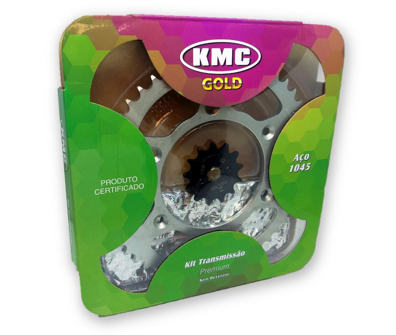 Kit Relação CRF 230 Aço 1045 KMC GOLD 520x110x50x13