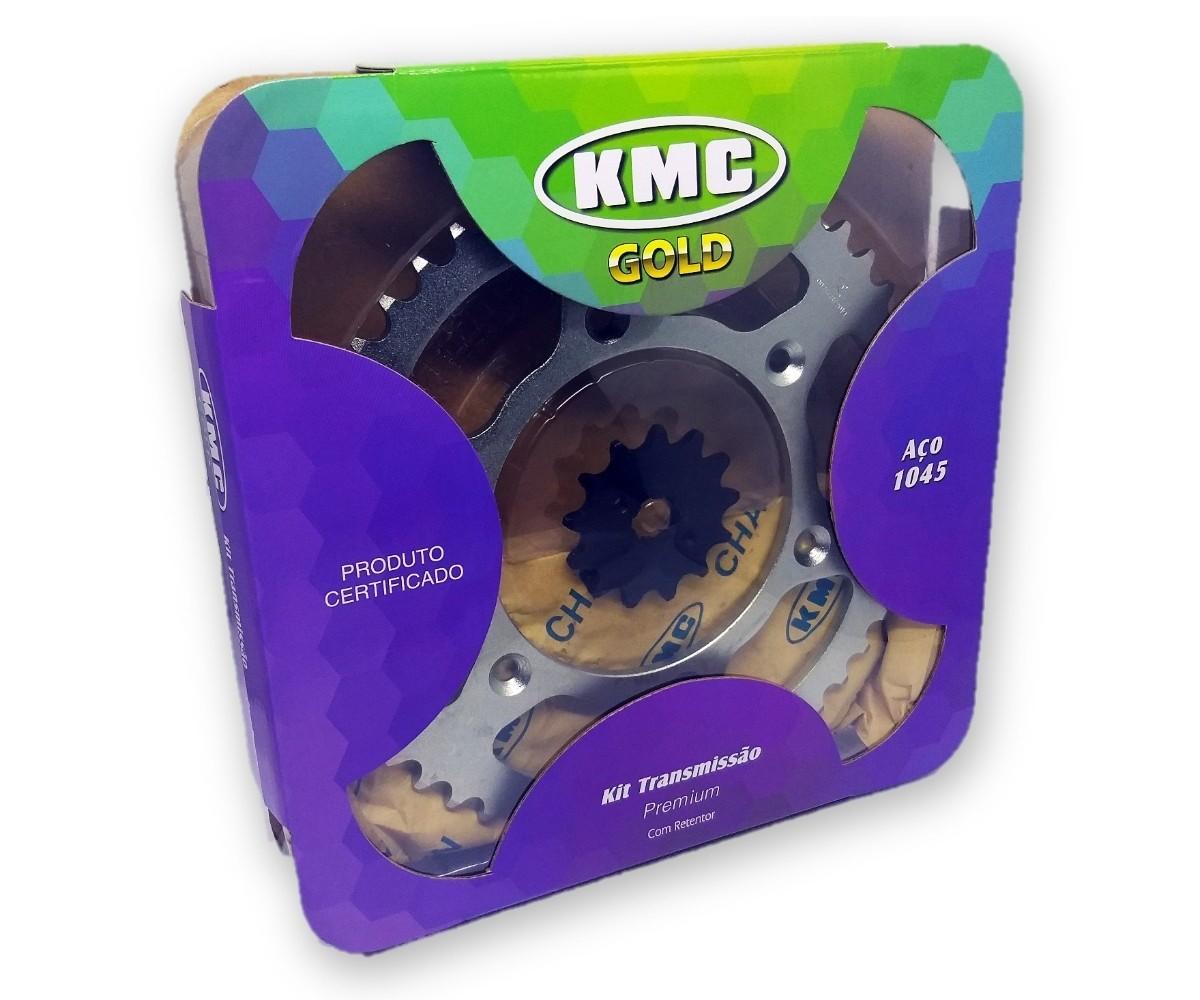 Kit Relação CRF 230 Com Retentor Aço 1045 KMC GOLD 520x110x50x13