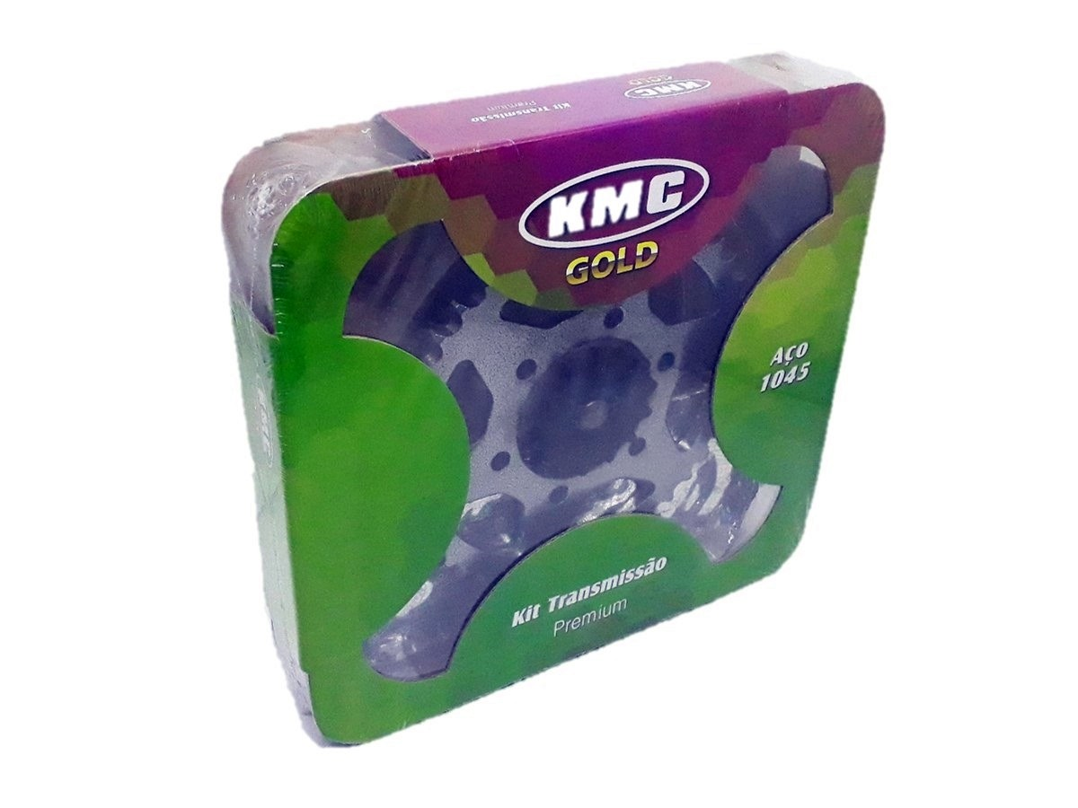 Kit Relação Crosser 150 Aço 1045 KMC GOLD 428x122x41x14