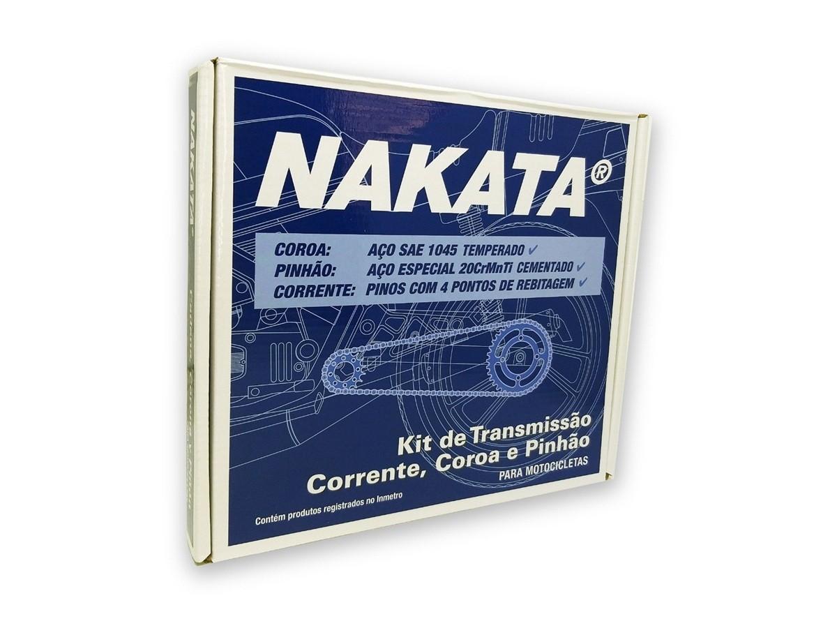 Kit Relação Crosser 150 Aço 1045 Nakata 428x122x41x14