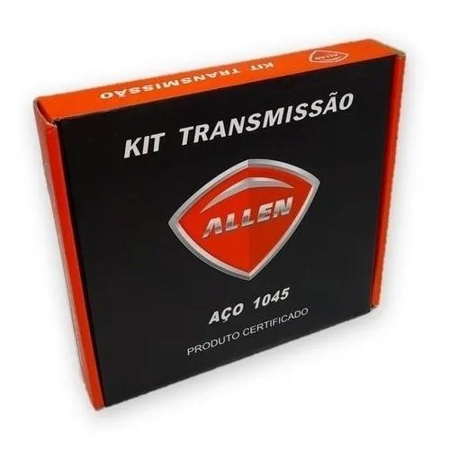 Kit Relação Crypton 115 2011 Aço 1045 Allen 420x108x41x15