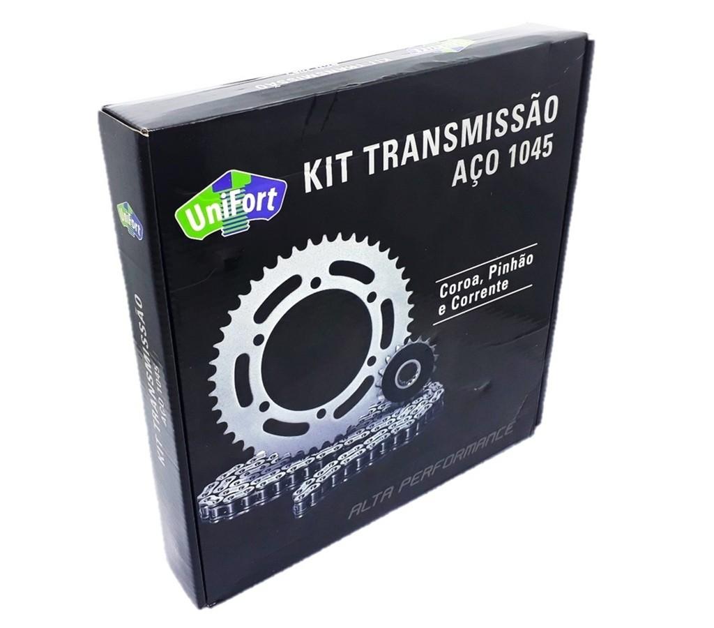 Kit Relação Fazer 150 2014 a 2019 Aço 1045 Unifort 428x126x41x14