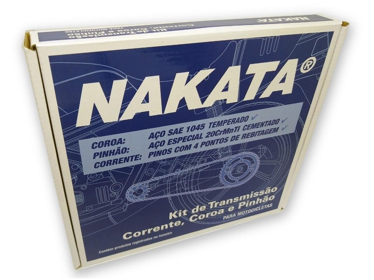 Kit Relação Fazer 150 Aço 1045 Nakata 428x126x41x14