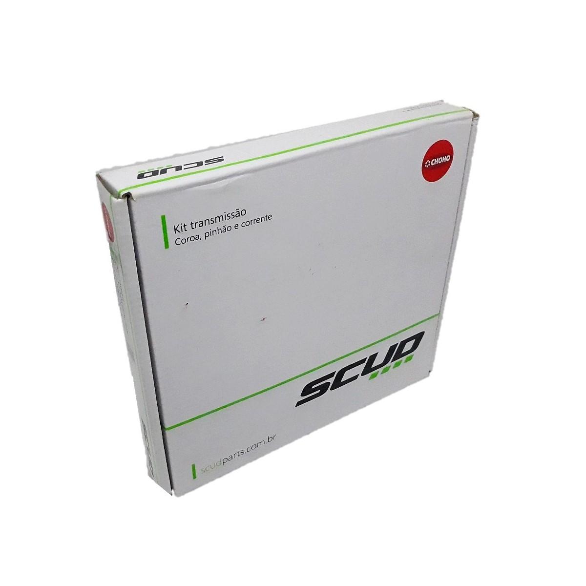 Kit Relação Super 100 Aço 1045 Scud 428x102x40x14