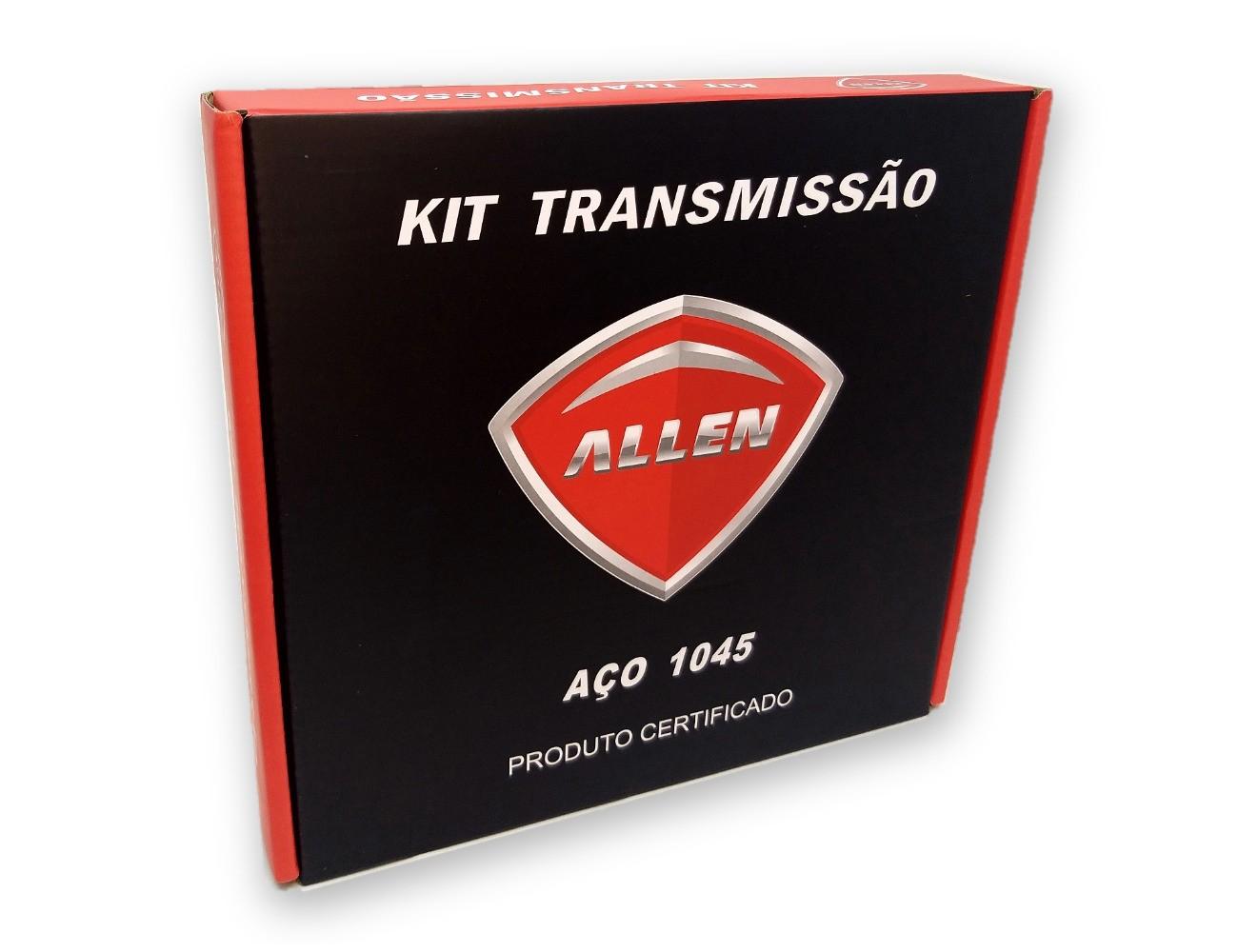 Kit Relação Suzuki Yes / Intruder 125 Aço 1045 Allen 428x116x43x14