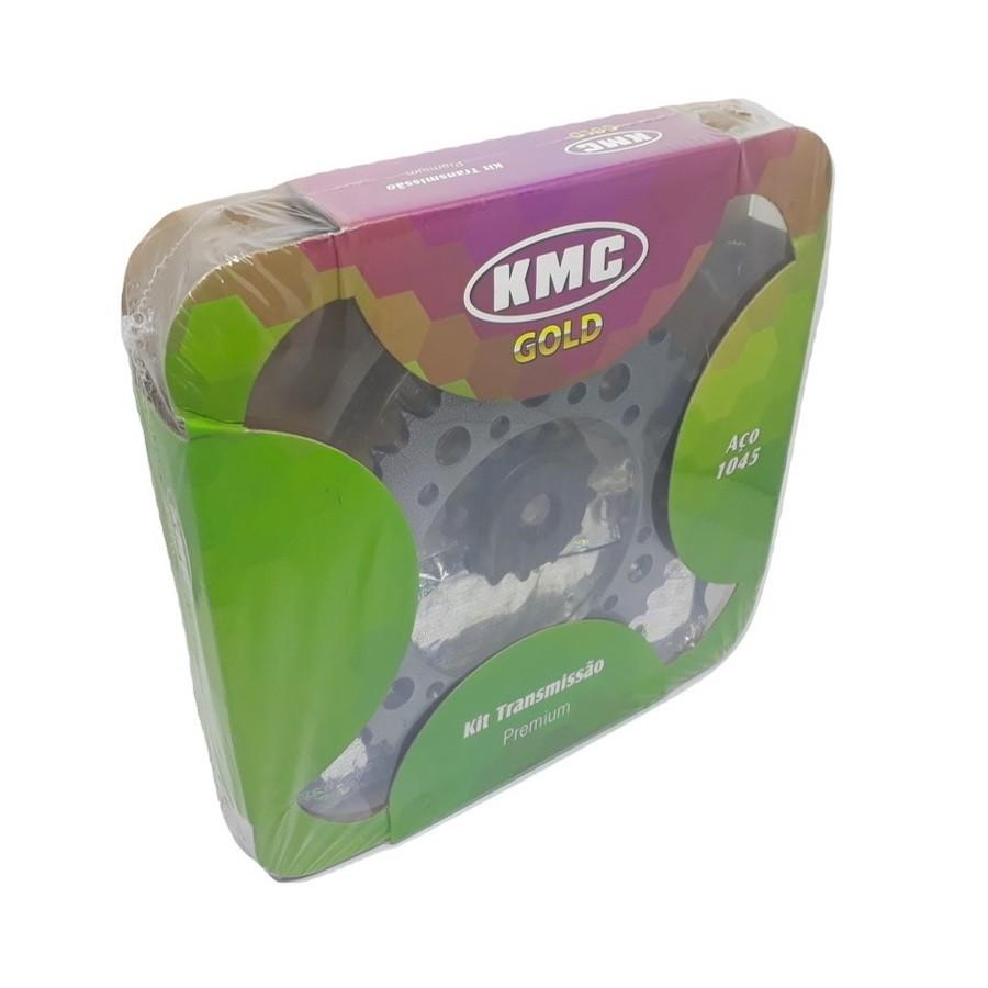Kit Relação Tenere 250 Aço 1045 KMC GOLD 520x106x39x13