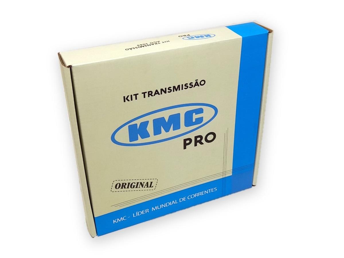 Kit Relação Titan 150 2004 até 2015 Aço 1045 KMC PRO 428X118X43X16