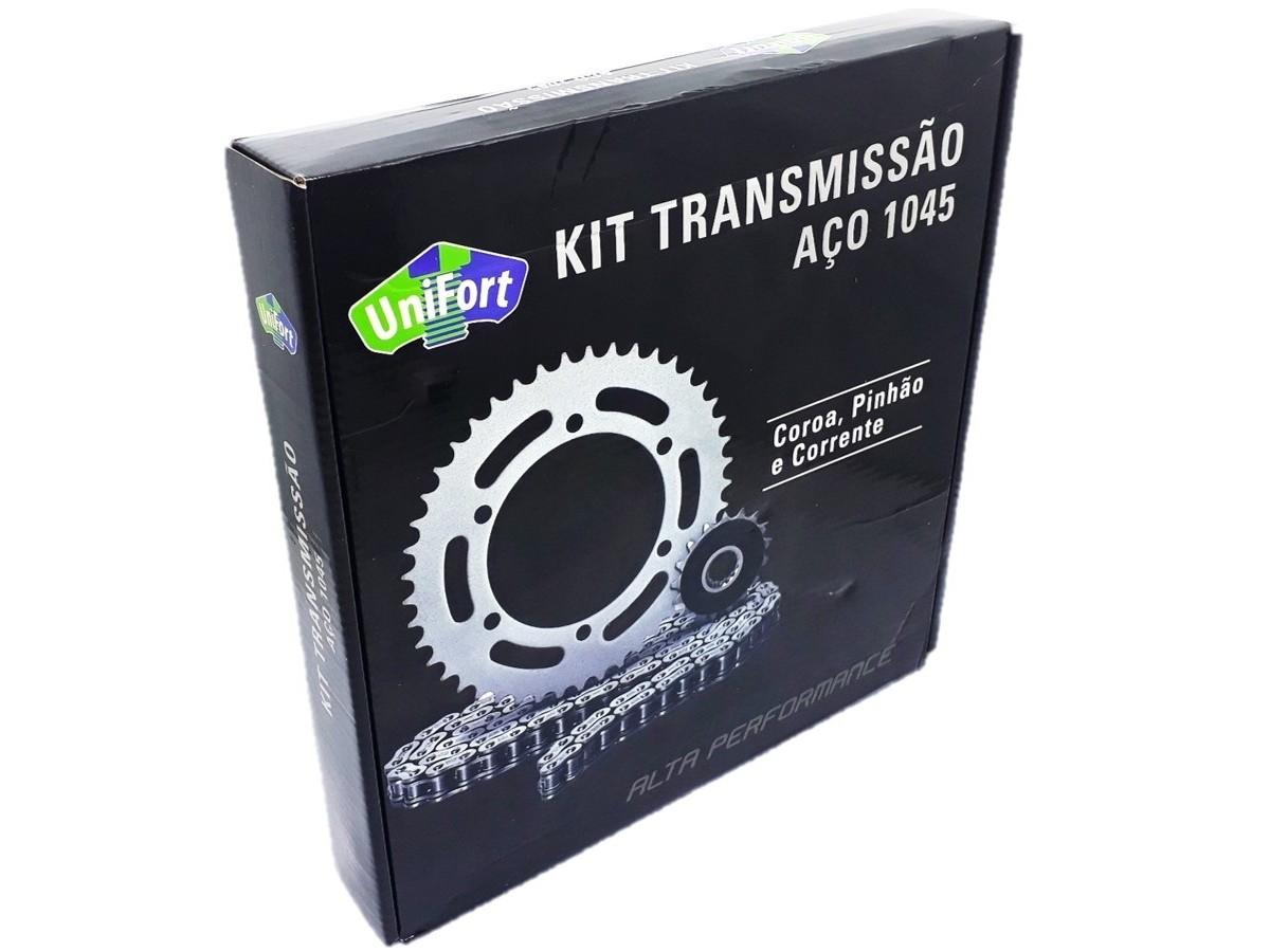 Kit Relação Titan 99 Aço 1045 Unifort 428x116x43x14