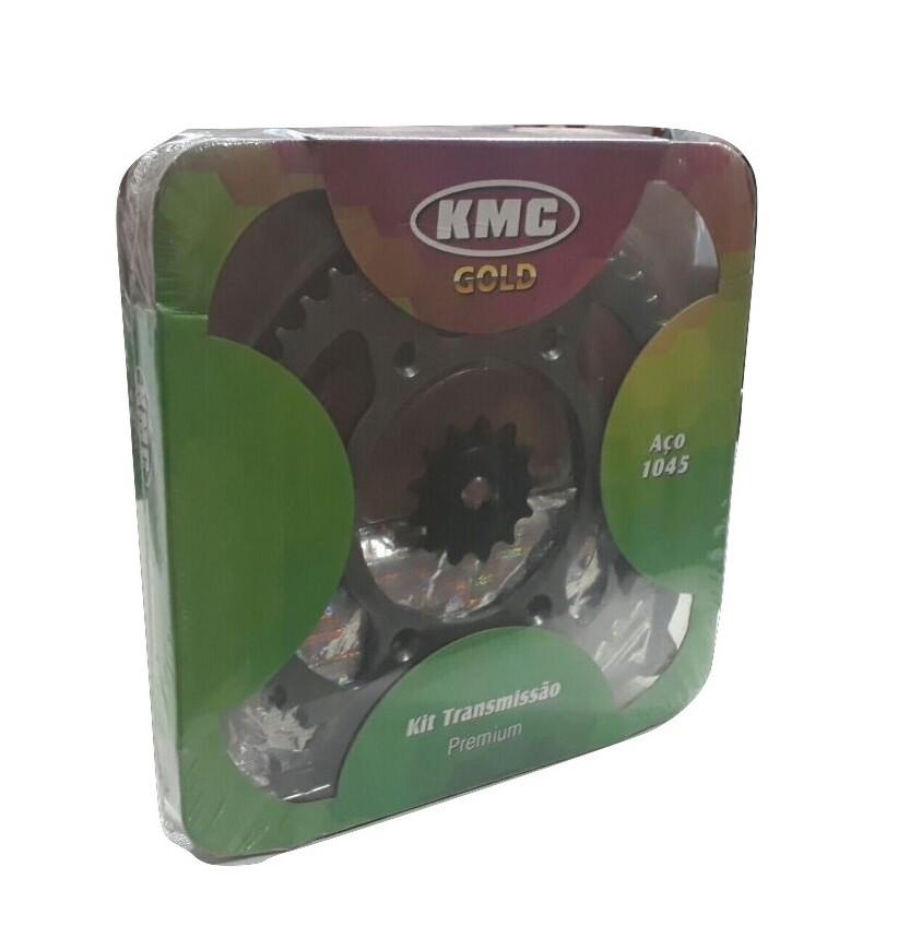 Kit Relação Twister 250 2001 a 2008 Aço 1045 KMC GOLD 520x106x37x13