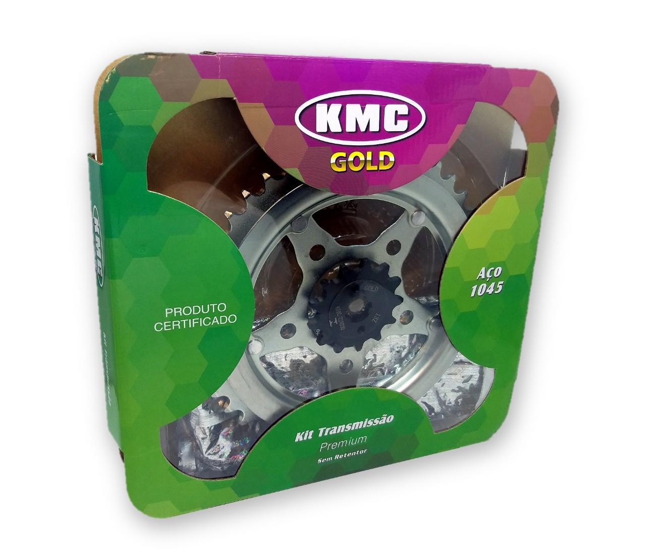 Kit Relação XR 200 Aço 1045 KMC GOLD 520x108x43x13
