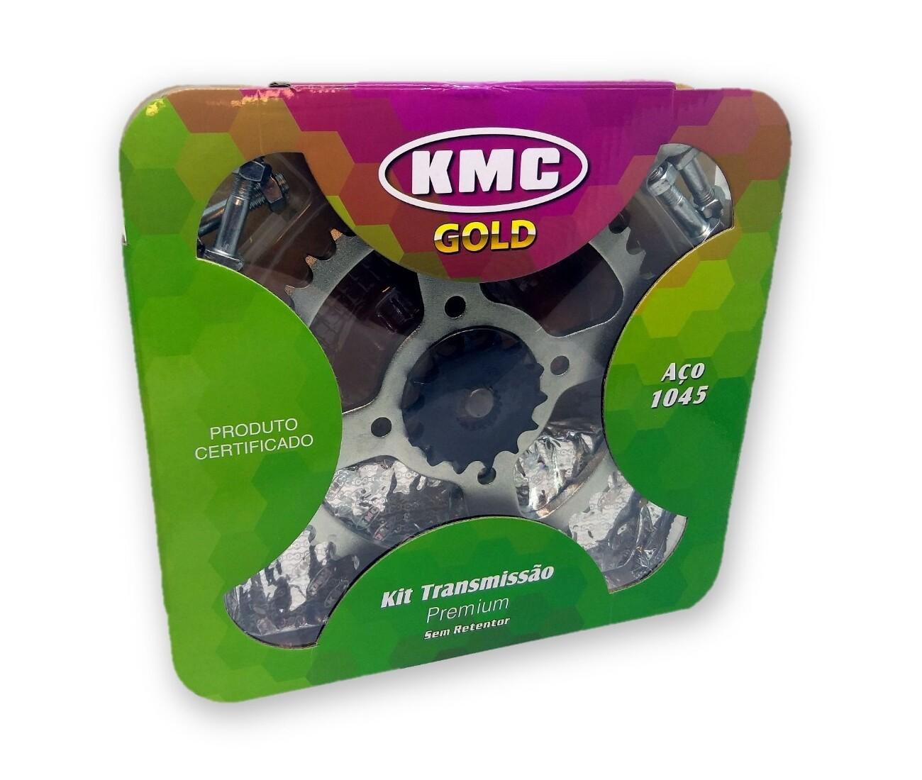 Kit Relação Yes / Intruder 125 1045 KMC GOLD 428x116x43x14