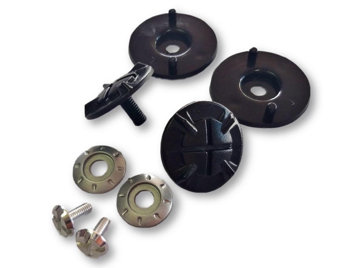 Kit Reparo Viseira Capacete Helt 630 Cross Vision Original