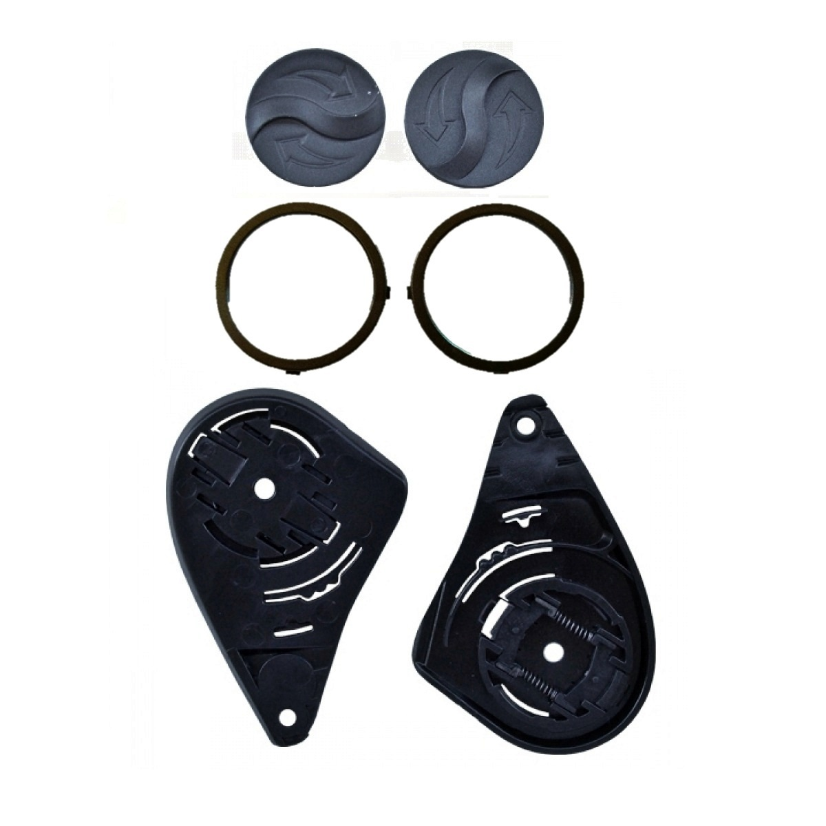 Kit Reparo Viseira Capacete Helt 956 Maximum Original