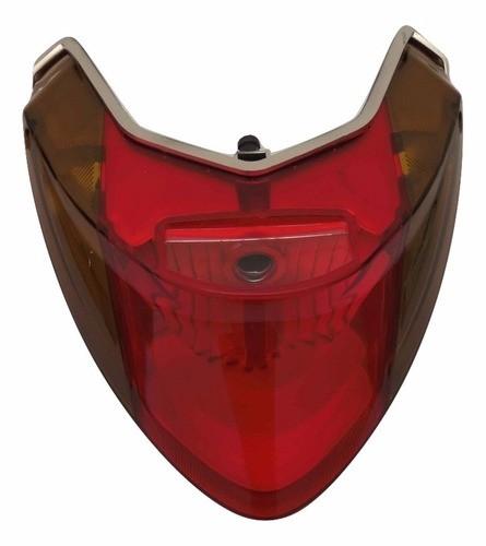 Lanterna Traseira Titan 150 / Fan 150 2009 a 2013 C/ Pisca Valplas
