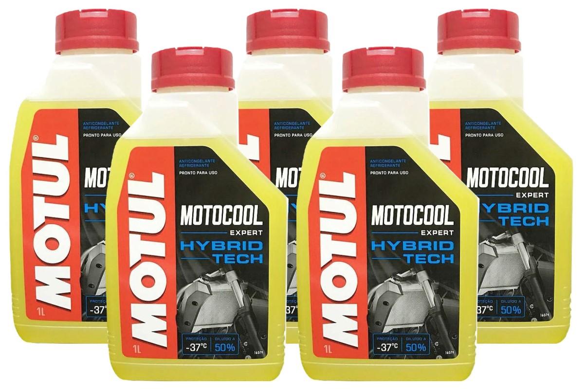 Liquido Arrefecimento Motocool Expert Motul 5 Litros