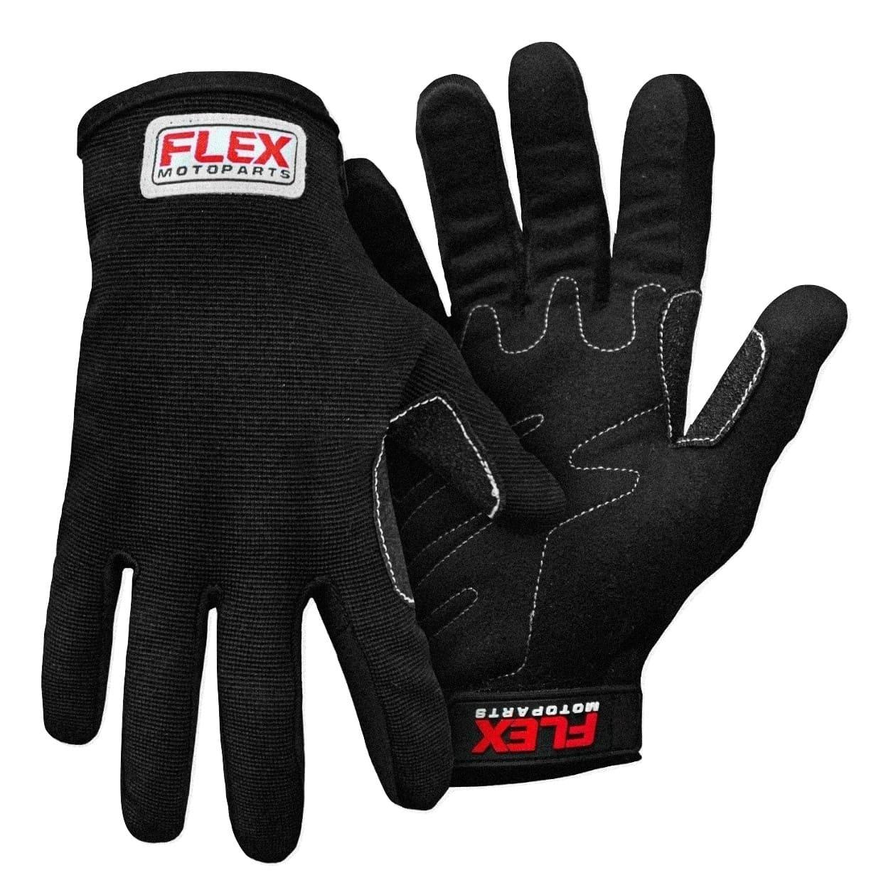 Luva Flex Gloves Poliéster Preta