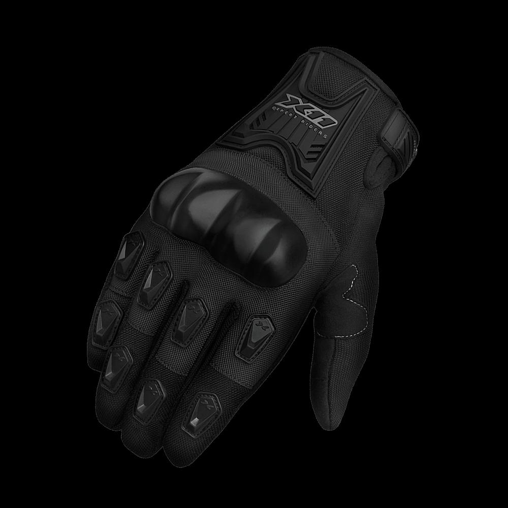 Luva Masculina X11 Blackout Touch Screen C/ Proteção Preto